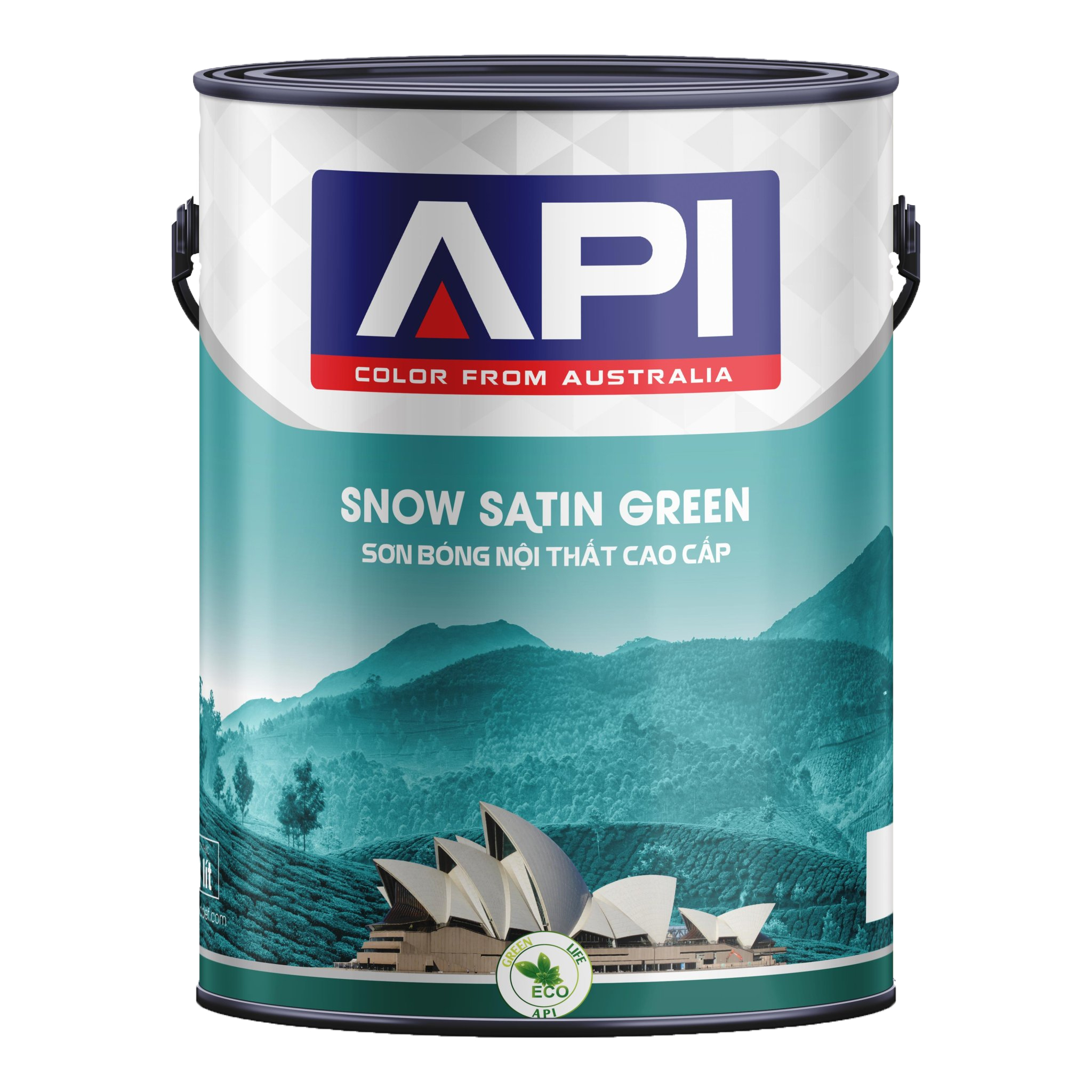 API -  SNOW SATIN GREEN